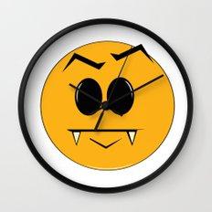 Vampire Smilie Wall Clock