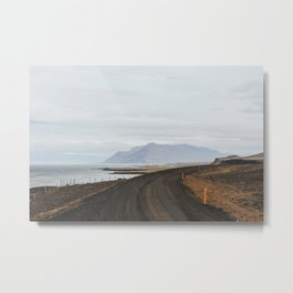 Backroads of Iceland Metal Print