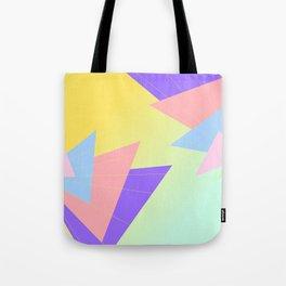 Sunset Origami Tote Bag