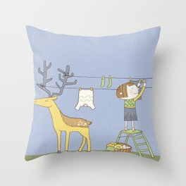 Problem solving Throw Pillow
