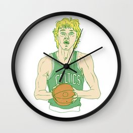 Larry Legend Wall Clock