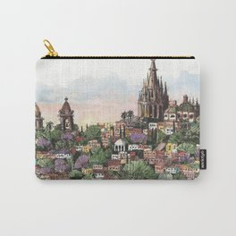 Sunset over San Miguel de Allende Carry-All Pouch