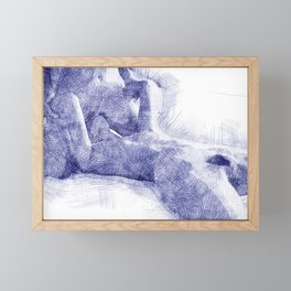 Making Love II Framed Mini Art Print