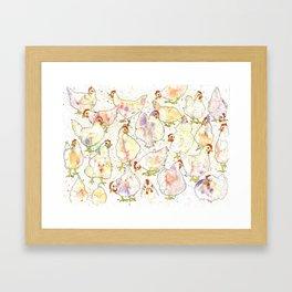 Chicks Framed Art Print