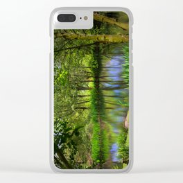 Spring views Clear iPhone Case