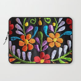Mexican Flowers Laptop Sleeve
