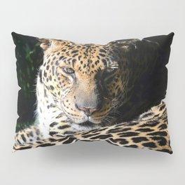 Pensive Leopard Considering Its Options Pillow Sham