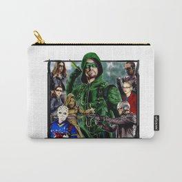Team ARROW - season 4(Green Arrow,Felicity Smoak,Spartan,OTA) Carry-All Pouch