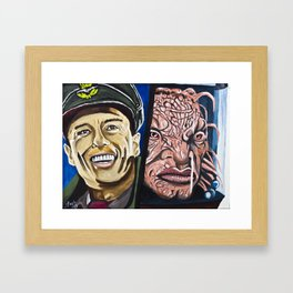 The Face of Boe, They Called Me Framed Art Print