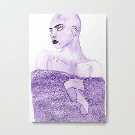 Gitter coat Metal Print