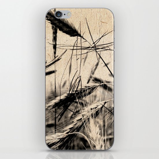 DRESSED GRAIN iPhone & iPod Skin