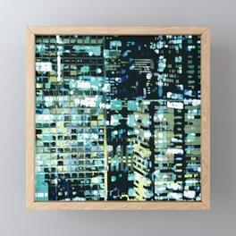 City Never Sleeps 1 Framed Mini Art Print
