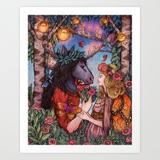 A Midsummer Nights Dream Art Print