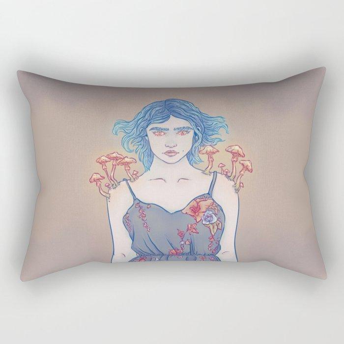 Armillaria Lady Rectangular Pillow