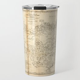 Map of China Chinese-Tartary & Tibet (1834) Travel Mug