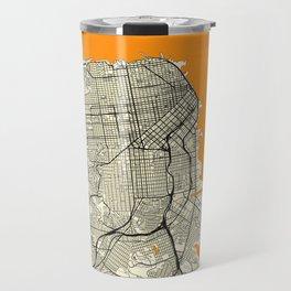 San Francisco Map Moon Travel Mug