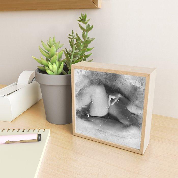 Must be Love Framed Mini Art Print
