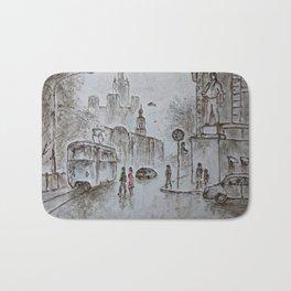urban scene Bath Mat