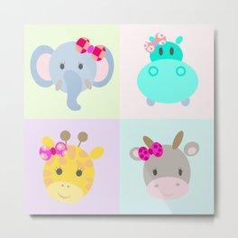 animales Metal Print