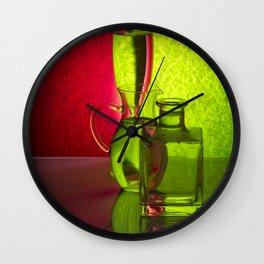 Play of light-3 Wall Clock