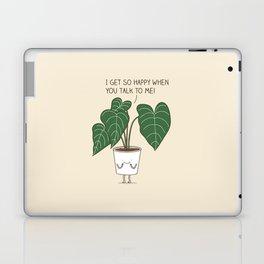 Plant talk Laptop & iPad Skin