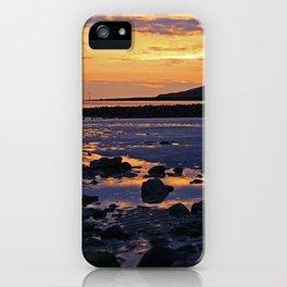 Coastal Sunset, Wales iPhone Case