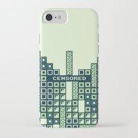tetris iPhone & iPod Cases featuring tantric tetris. by dann matthews
