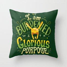 Glorious Purpose Throw Pillow