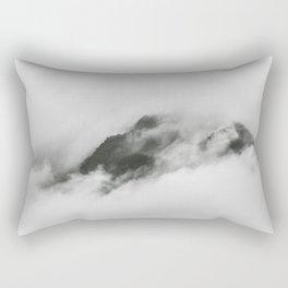 Cloudy Peak Rectangular Pillow