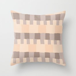 Feng Shui Element Earth Throw Pillow