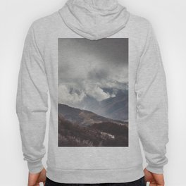 Waiting for the sun - Landscape and Nature Photography Hoody