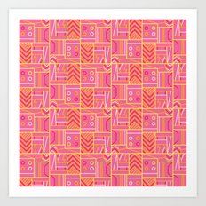 BP 74 Abstract Geo Art Print