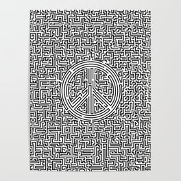 Ultimate peace maze Poster