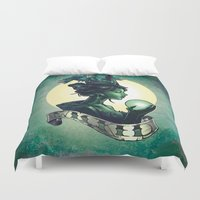 wicked Duvet Covers featuring WICKED by Tim Shumate