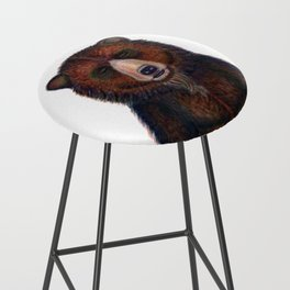 Blissed Out Bear Bar Stool