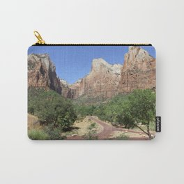 Crossroads At The Court Of The Patriarchs Carry-All Pouch