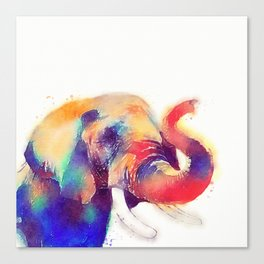 The Majestic - Elephant Canvas Print