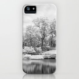 Central Park in Infrared iPhone Case