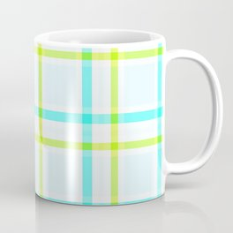 Summery Plaid Coffee Mug