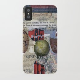 The Numbing of Atlas iPhone Case