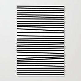 Linear Texture Print Canvas Print