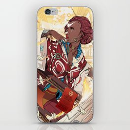 The Art House of Cranes iPhone Skin