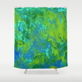 Paint Pouring 36 Shower Curtain
