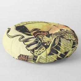 Caveira Rei dos Mares Floor Pillow