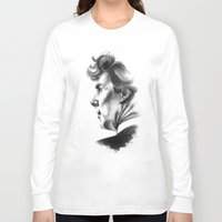 sherlock holmes Long Sleeve T-shirts featuring Sherlock Holmes by aleksandraylisk