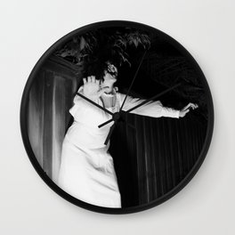 Screaming Kimberly Wall Clock