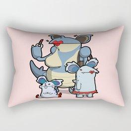 Pokémon - Number 29, 30 & 31 Rectangular Pillow