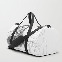 Clarice Lispector in Lines Duffle Bag