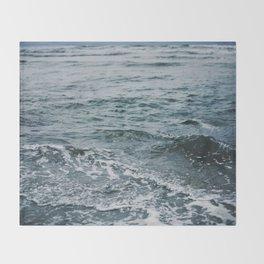 Arctic Waters Throw Blanket