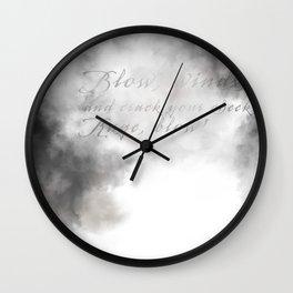 Lear Wall Clock